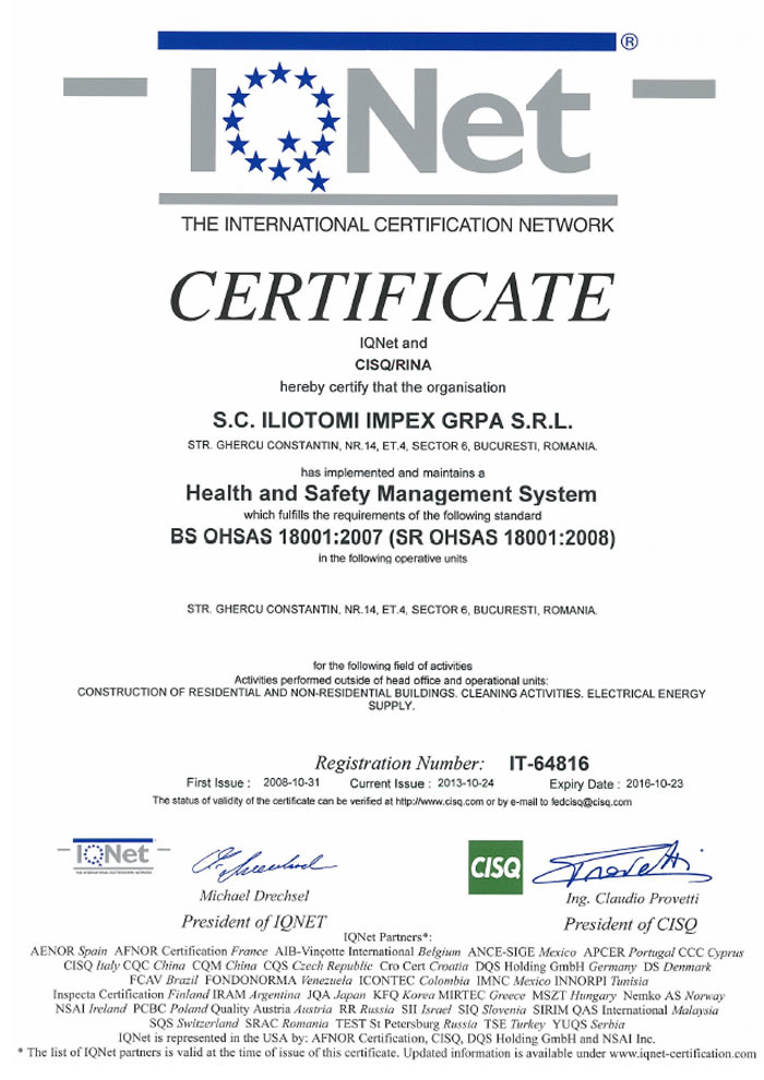 ohsas_18001_2007_iqnet